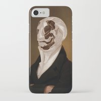 rorschach iPhone & iPod Cases featuring Rorschach by DIVIDUS