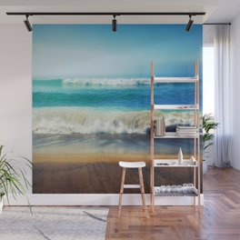 The Beach Wall Mural