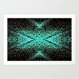 The Peacock Butterfly Art Print