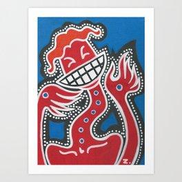 Al Dente Art Print