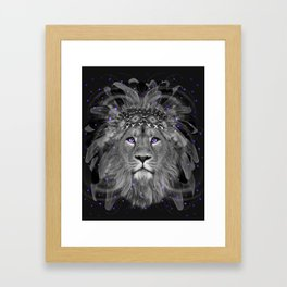 Don't Define Your World (Chief of Dreams: Lion) Tribe Series Framed Art Print