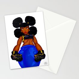 Tough Girl Stationery Cards
