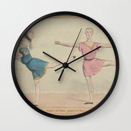 Ducote A fl  LiThe rival artistes Wall Clock