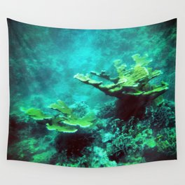 Under the Sea Coral Reef Caribbean Wall Tapestry
