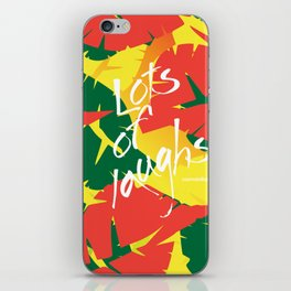 Tropical Spring iPhone Skin