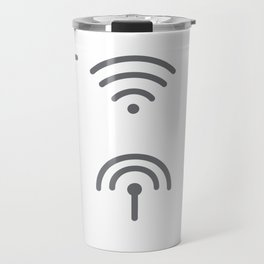 Wifi Signal Travel Mug
