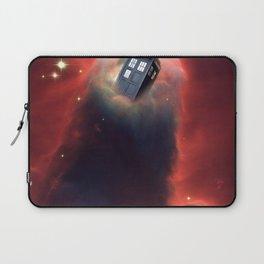 Tardis Doctor Who Pillar Of Gas Laptop Sleeve