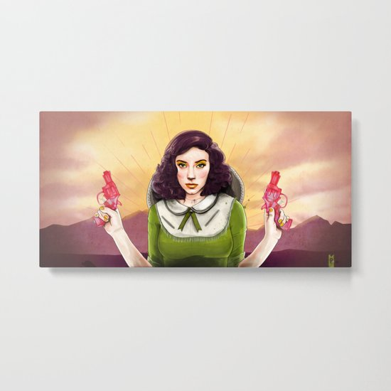 The Good, The Bad, & The Squirter Metal Print