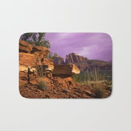Red Desert Day II Bath Mat