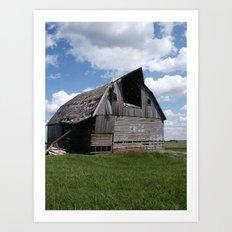 Abandoned Barn #7 Art Print