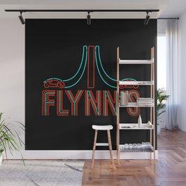 Flynns Place - Tron - Retro Shirts - Retro Arcade - Neon Sign Wall Mural