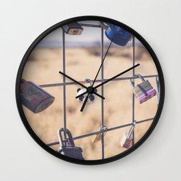 PradaMarfa Love Locks Wall Clock