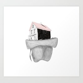 Missing Home Art Print