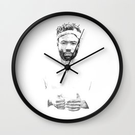 Childish Gambino Wall Clock