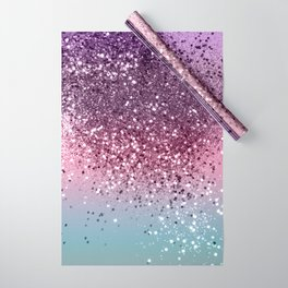 Unicorn Girls Glitter #6 #shiny #pastel #decor #art #society6 Wrapping Paper