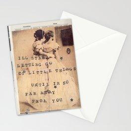 hard feelings Stationery Cards