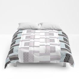 Border Geometric Comforters