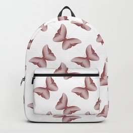 Red Wine Butterflies Backpack