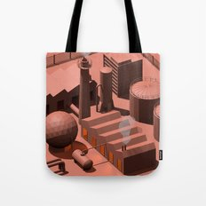 Low Poly Industry Tote Bag