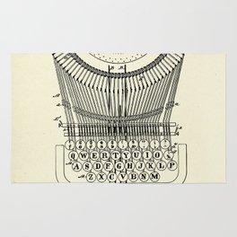 Type Writing Machine-1886 Rug