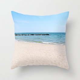 AFE Toronto Island Beach3 Throw Pillow