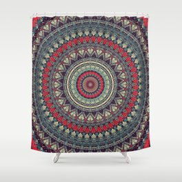 Earth Mandala 5 Shower Curtain