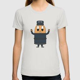 Metal-Beer-Barrel Egg T-shirt