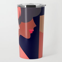 Together, we can  #girlpower Travel Mug