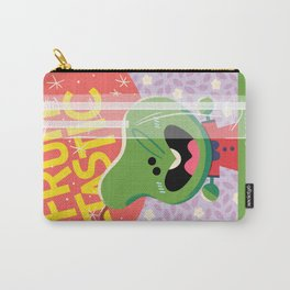 Rosey Posey Pear Carry-All Pouch