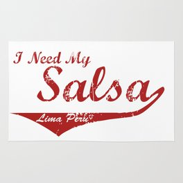 I Need My Salsa - Lima Peru Rug