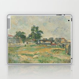 Paul Cézanne - Landscape near Paris Laptop & iPad Skin