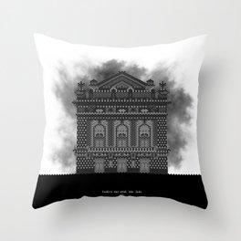 HexArchi - Portugal, Porto, Teatro Nacional São João Throw Pillow