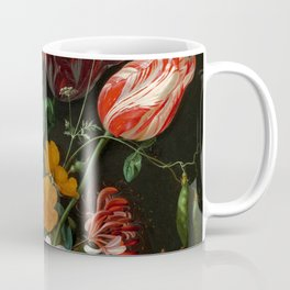"Jan Davidsz. de Heem ""Still Life with Flowers in a Glass Vase"" Coffee Mug"