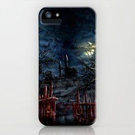 Castlevania: Vampire Variations- Gates iPhone Case