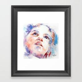 In Wonder Framed Art Print