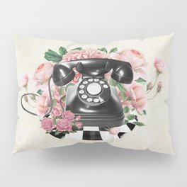 Vintage Rotary Phone Pillow Sham