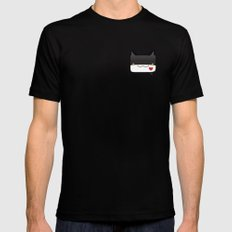 Convo Cats! Jiji Mens Fitted Tee Black MEDIUM