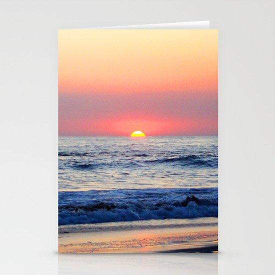 Sunset at Manuel Antonio Stationery Cards
