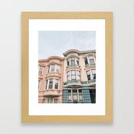 San Francisco Charmer Framed Art Print