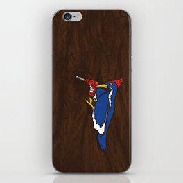 Modern Day Woodpecker iPhone Skin