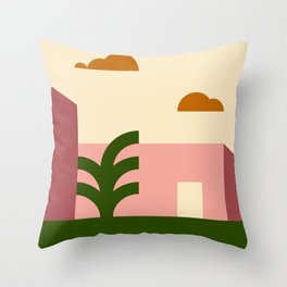 Thinking Back To The Holiday I Never Had .02 Throw Pillow