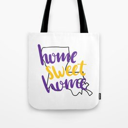 Home Sweet Home LSU Tote Bag