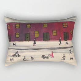 Winter Tale Rectangular Pillow