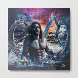Kanaloa Aquaman Metal Print