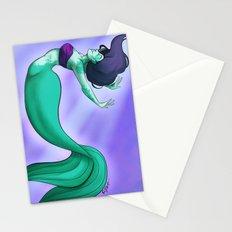 Mermaid Glow Stationery Cards