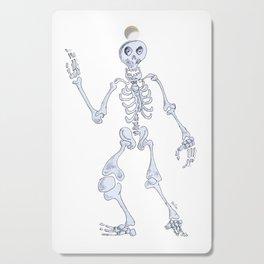 Happy skeleton Cutting Board