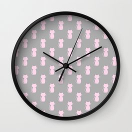 A Lot of Cats G/P Wall Clock