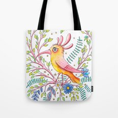 serious bird Tote Bag