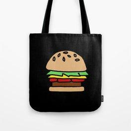 Burger Off Tote Bag