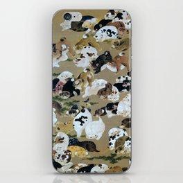 Ito Jakuchu - Hundred Dogs - Digital Remastered Edition iPhone Skin